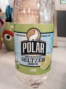 Seltzer water takes some getting used to, but it keeps my from reaching for diet soda.